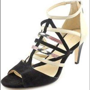 Calvin Klein Gena Suede, strappy heels
